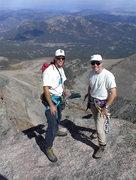 Rock Climbing Photo: Longs Peak, Cables route