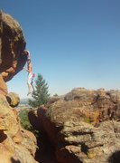 Rock Climbing Photo: Mike B on Sailor's Delight.  Photo by Mitch Harris...