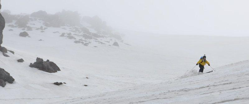 backcountry skiing in Japan