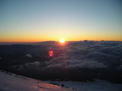 Rock Climbing Photo: A Fuji sunrise