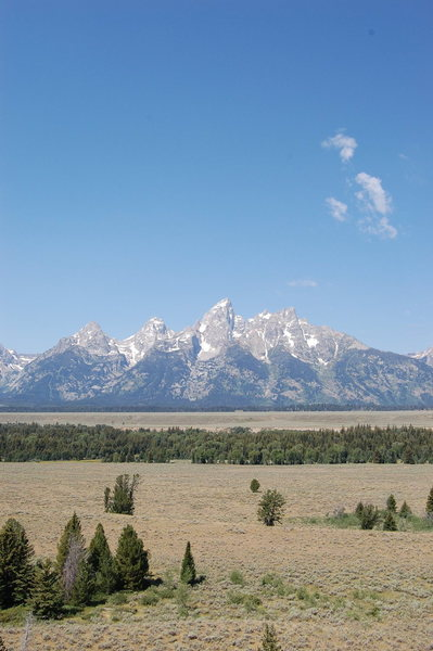 Rock Climbing Photo: The Grand Teton, August 2011