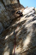 Rock Climbing Photo: Just remember that you must step onto the face at ...