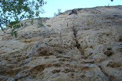 Rock Climbing Photo: Marsha! Marsha! Marsha! Get me a freaking hold! Oh...