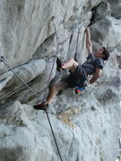 Rock Climbing Photo: On 'The Great Escape'