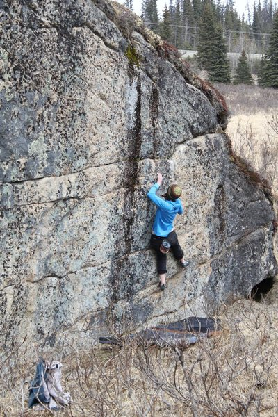 Anne Freudenthal on the Event Horizon V3, Anchor Point, AK