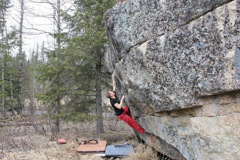Jared LaVacque on Alien Intercourse V3, Anchor Point, AK