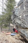 Rock Climbing Photo: Jared LaVacque on Iceburg Slim V3