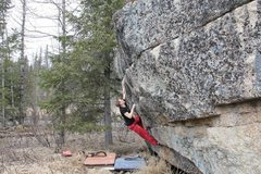 Rock Climbing Photo: Jared LaVacque on Iceburg Slim V3