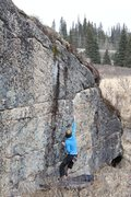 Rock Climbing Photo: Anne Freudenthal on Event Horizon
