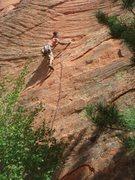 Rock Climbing Photo: Logan Berndt flashing Baja Ha Ha.