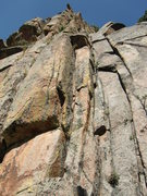 Rock Climbing Photo: Start of Neighsayer starts in the right facing cor...