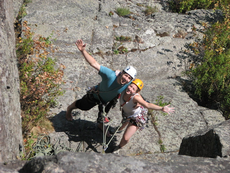 Rock Climbing Photo: Climbing in the Adirondacks.