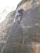 Rock Climbing Photo: can't remember for the life of me which route this...