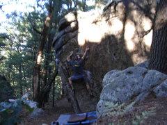 Rock Climbing Photo: Great problem.