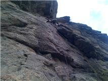 Rock Climbing Photo: the beginning to peoples choice