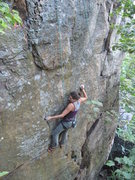 Rock Climbing Photo: Melissa.
