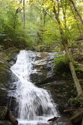 Rock Climbing Photo: first view of falls reach as start up trail...abou...