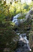 Rock Climbing Photo:  further up the falls.