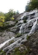 Rock Climbing Photo: looking at top of falls