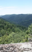 Rock Climbing Photo: view from observation deck at top.