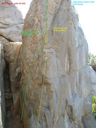 Rock Climbing Photo: Another view of Cornered and some of its neighbors...