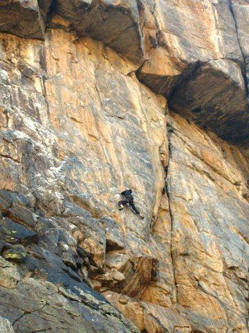 Rock Climbing Photo: nasty