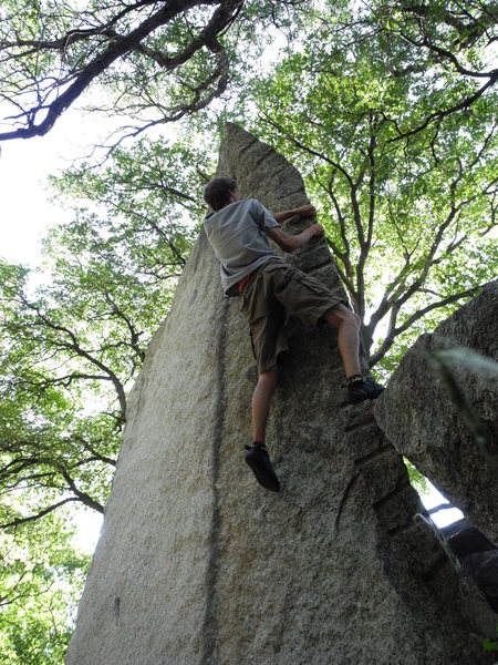 Rock Climbing Photo: climbing Secret Garden Arete