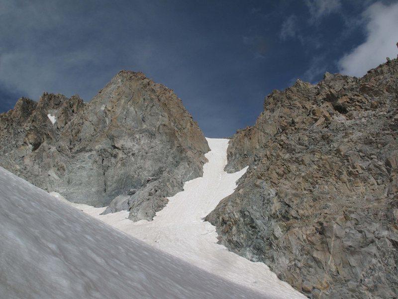 Rock Climbing Photo: SE Couloir