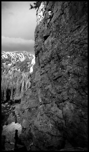 Rock Climbing Photo: Anti-Hero