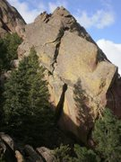 Rock Climbing Photo: This photo doesn't do it justice.  That is one col...