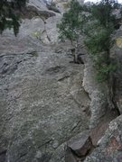 Rock Climbing Photo: This is the direct start.  Why hike around on loos...