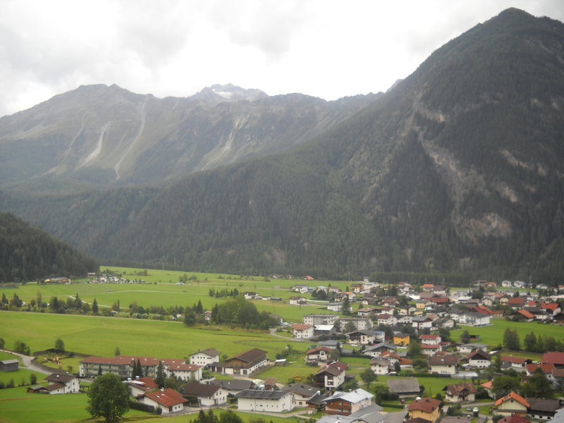 This is Umhausen in the Ötztal
