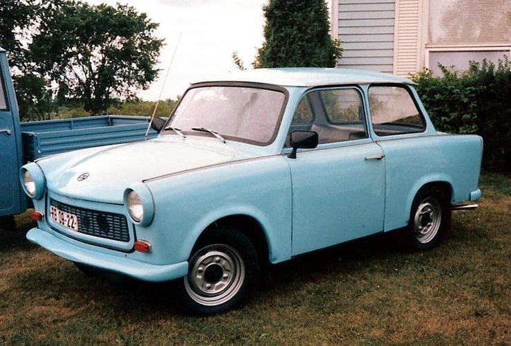 Rock Climbing Photo: A 1969 Trabant. To learn more about this neat East...