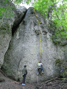Rock Climbing Photo: Dominik and Eva enjoying Freundschaft.