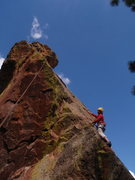 Rock Climbing Photo: West Face route