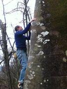 Rock Climbing Photo: Sean Ferrell on Old English.