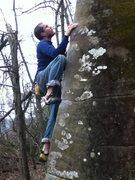Rock Climbing Photo: Old English.