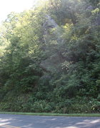 Rock Climbing Photo: find this rock on side of road and head straight u...