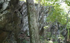 Rock Climbing Photo: approaching.
