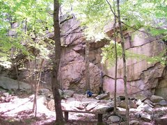 Rock Climbing Photo: college rock overview