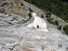Rock Climbing Photo: Following the 3rd pitch of Beast.
