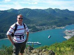 Rock Climbing Photo: Hiking Mt. Roberts in AK
