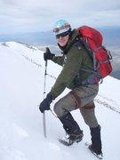 Climbing Wheeler Peak in the Great Basin National Park, Nevada.