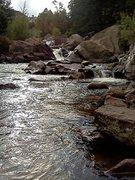 Rock Climbing Photo: creek