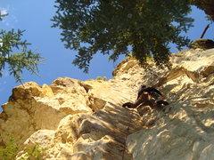 Rock Climbing Photo: Good fun in the sun.