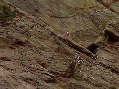 Climbers at Eldo