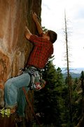 Rock Climbing Photo: Sean Stellick pullin it down. Photo credit: Micah ...