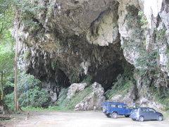 Rock Climbing Photo: Fairy Caves Sport Climbing area. Bau, Sarawak, Bor...