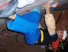 Rock Climbing Photo: Crushing through the power of spinach at Day of th...