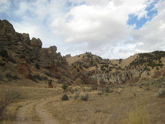 Rock Climbing Photo: Horse Cock Canyon or Monks Hollow or whatever you ...